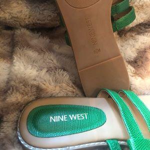 Nine West Shoes - Nine West Green Sandal
